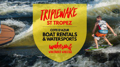 WakeScout listings in France: TRIPLEWAKE St Tropez | Wakeboard & Wakesurf | Cote d'Azur France