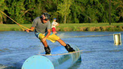 Wakeboarding, Waterskiing, and Cable Wake Parks in Allen: Hydrous Wake Park at Allen Station