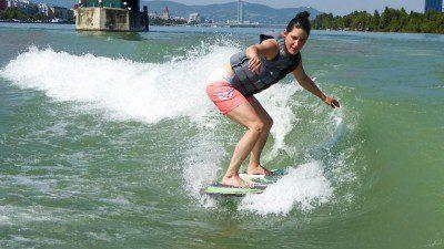Danube Surfer