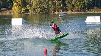 Wakeboarding, Waterskiing, and Cable Wake Parks in Bram: Téléski Nautique de Bram