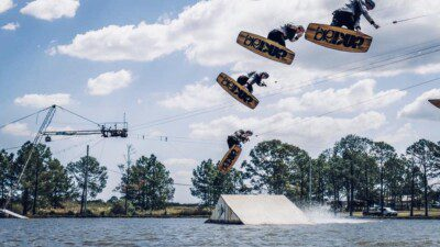 Wakeboarding, Waterskiing, and Cable Wake Parks in Carbrook: Bayside Wake Park