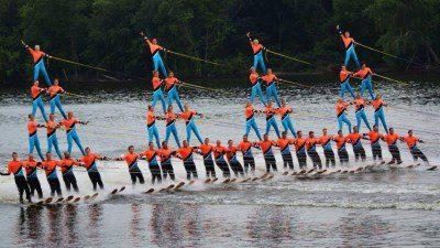 Backwater Gamblers Show Ski Club