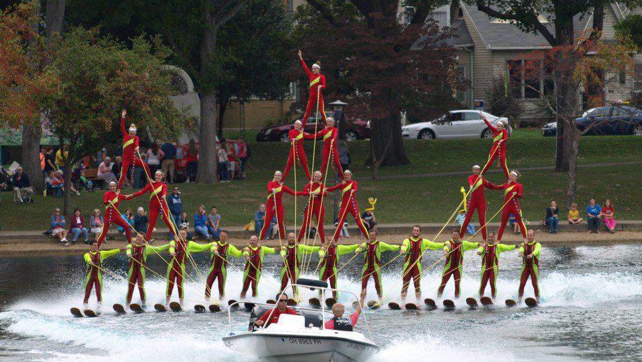 Chippewa Lake Water Ski Show Team