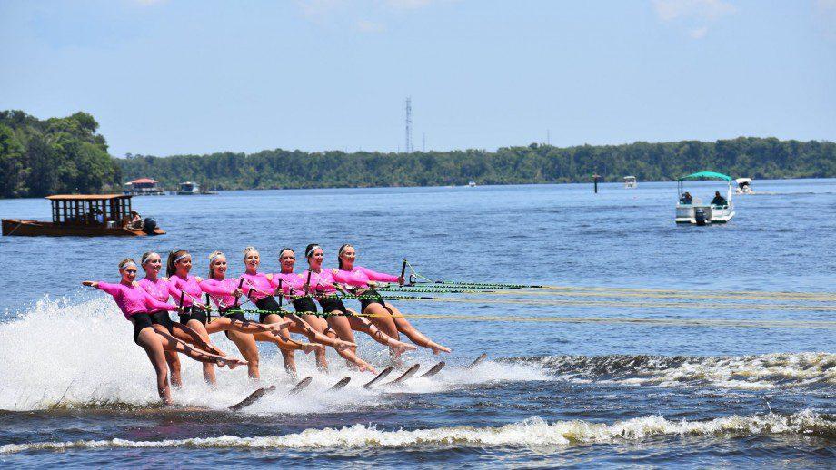 Gatorland Water Ski Show Team