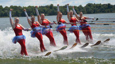 North Stars Water Ski Show Team