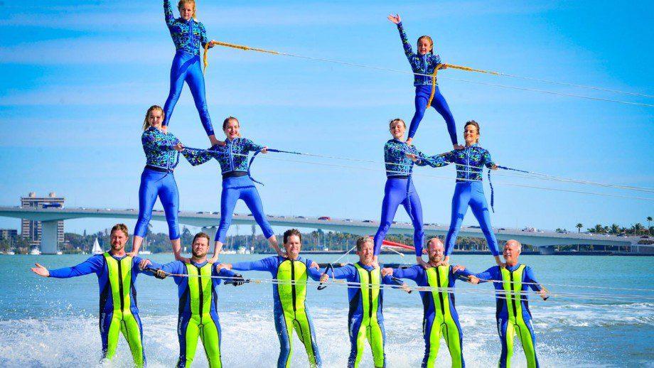 Sarasota Ski-A-Rees Ski Show Team