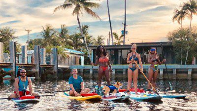 SUP PuP Paddleboard Ft. Lauderdale